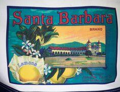 Mission California Tote Label | Santa Barbara Tote