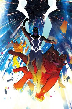 Black Bolt Written by Saladin Ahmed Art by Frazer Irwing Cover by Christian Ward Cosmic Comics, Marvel Comics Art, Marvel Heroes, Comic Book Artists, Comic Artist, Comic Books Art, Marvel Comic Character, Marvel Characters, Cartoon Characters