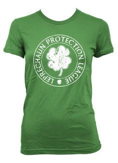 Just in time for St. Patrick's Day. Lots of fun t-shirts for everyone.