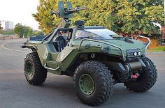 The Warthog from Halo - I'll sell my soul and sign it in blood for a real one