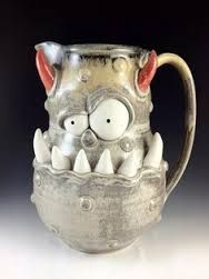 monster pottery - Google Search