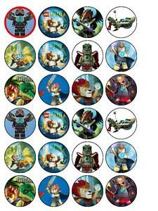 lego chima party cupcake toppers do it yourself
