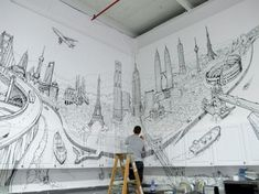 Arte y Arquitectura: La ciudad global/Deck Two (4)