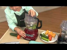 KitchenAid 13 Cup 3-in-1 Wide Mouth Food Processor w/ Accessories with David Venable - YouTube