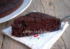 Torta matta al cioccolato, torta senza uova, lievito e senza latte | Arte in cucina
