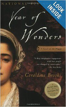 historical fiction set in the 1600s - part plague, part witchcraft, part love story.  another good book by a terrific author.