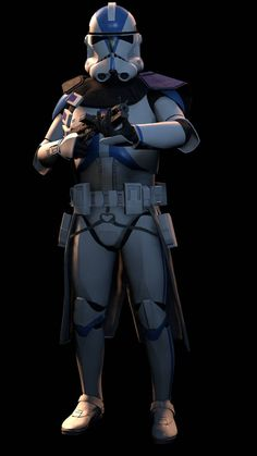 Here is an SFM poster of an standard Phase II Clone Trooper from the Star Wars franchise [SFM] Clone Trooper Star Wars Pictures, Star Wars Images, Star Wars Rpg, Star Wars Clone Wars, Star Wars Commando, Star Wars Timeline, 501st Legion, Star Wars Personajes, Star Wars Poster