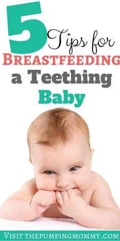 Teething and Breastfeeding: 5 Tips for Breastfeeding a Teething BabyThe thought of breastfeeding a teething baby is enough to make any nursing mom cringe. Here are 5 tips to avoid your baby biting and how to get them relief! Lamaze Classes, Baby Kicking, Third Baby, Baby Shower, Baby Hacks, Baby Tips, After Baby, Baby Arrival, Pregnant Mom