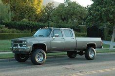 1991 Chevy Crew Cab 1 ton 4x4