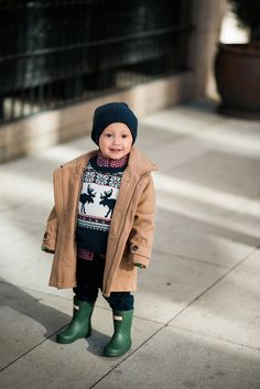 obsessed with this toggle coat from Janie and Jack...