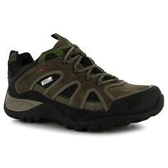 Karrimor Mens Ridge Walking Shoes Waterproof Lace Up Padded Insole Footwear Brown 11 45 -- Want additional info? Click on the image.