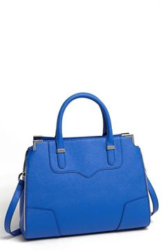 I'm loving this bag, especially in the electric blue!  Rebecca Minkoff 'Amourous' Satchel available at #Nordstrom