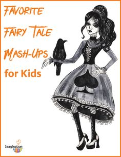 10 great chapter book fairy tale mash-ups for kids
