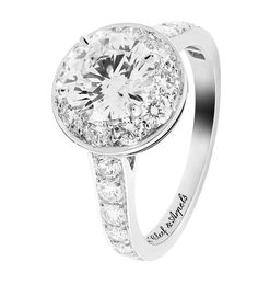 Van Cleef & Arpels bague de fiançailles en diamant