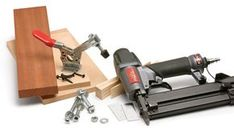 Build jigs quickly and accurately using the right materials, fasteners, and accessories.