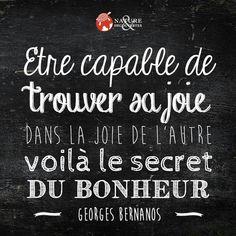 Joie secret bonheur