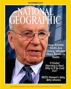 National Geographic under Rupert Murdoch
