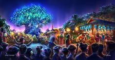 'Avatar Land' concept revealed for Disney World | The Verge
