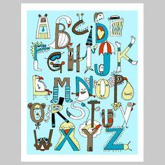 alphabet print (www.jessicaswift.com)