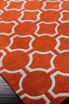 ORANGE U CRAY ZEE about this rugs pattern?