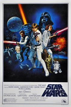 Star Wars. One of the best movies ever made. Period. Still love to watch this. Darth Vader is my dude!
