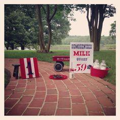 Milk & Cookies photo props