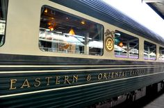 Orient-Express Train by CarlosMeliaBlog.com I travel through the ALPS BY train many years ago and I enjoyed it much more than I thought I would. I would love to travel to Asia on this train..BDonna
