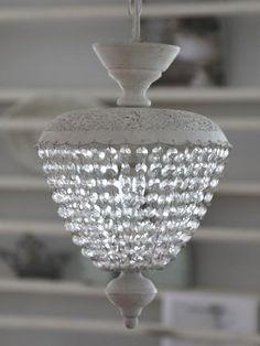 Chic Antique * Lüster, Deckenlampe inkl. Baldachin, Antik-Look, Shabby Chic: Amazon.de: Beleuchtung
