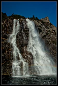 Whiskey Falls -- Right outside Stavanger, Norway