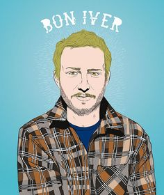 Bon Iver on a rainy day like this. ♫