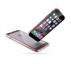 Amazon.com: iPhone 6s Case | iCASEIT COMBi Glass Case | Slim case with Strengthened Glass back | Only 0.8mm in Thickness | Exact-Fit with Premium Finish | Fits iPhone 6s | ROSE GOLD: Electronics