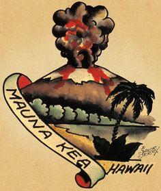 meaning behind hawaiian tribal tattoos Traditional Tattoo Old School, Neo Traditional Tattoo, American Traditional, Traditional Flash, Hawaiian Tribal, Hawaiian Art, Hawaiian Tattoo Meanings, Sailing Tattoo, Sailor Jerry Tattoo Flash