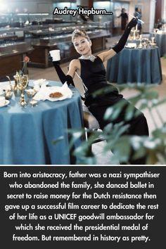 The amazing Audrey Hepburn