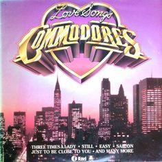 COMMODORES - Love Songs (K-tel NE 1171) Vinyl | Music