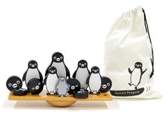 Suica penguin balance game