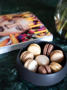 Fresh Friday Flowers, Vogue and Macaroons - Celina Stamper Macaroons, Celine, Vogue, Friday, Fresh, Breakfast, Flowers, Food, Macaroni