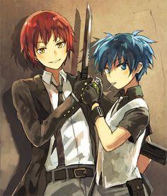 Assassination Classroom | Karma, Nagisa