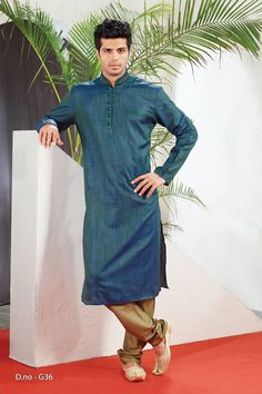 Blue Poly Dupion Readymade Kurta with Churidar  http://www.silk-india.com/en/82-kurta-pajama 34.99$ Now, place your Order now : Email:- raksha@silk-india.com