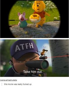 Take Him Out This Movie Was Really Fucked Up - Funny Memes. The Funniest Memes worldwide for Birthdays, School, Cats, and Dank Memes - Meme Dankest Memes, Funny Memes, Jokes, Cod Memes, Bee Movie Memes, Funny Pins, Funny Stuff, Random Stuff, Haha