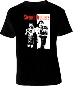 STIENER Brothers Rétro WCW T Shirt