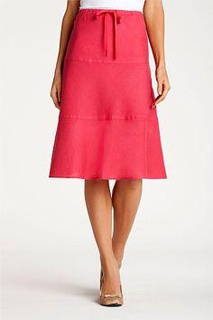 Skirts - Capture Linen Skirt