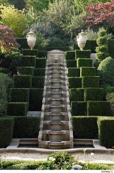 Hillside Landscaping: Ideas for a Sloped Backyard Landscape Architecture, Landscape Design, Garden Design, Formal Gardens, Outdoor Gardens, Modern Gardens, Japanese Gardens, Parks, Sloped Backyard