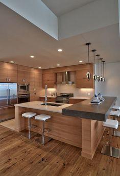 Belo projeto de cozinha