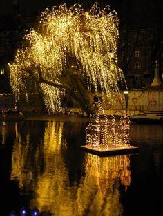 Christmas in Tivoli Gardens Copenhagen Denmark 2