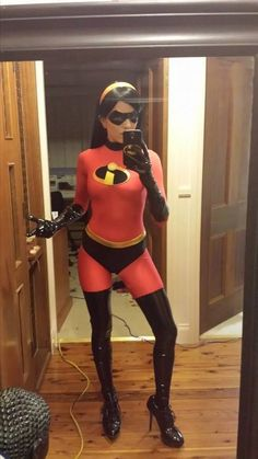Violet (from the Incredibles) Selfie #cosplay