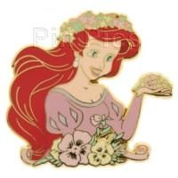 DS - Princesses with Flowers - 4 Pin Set (Ariel Only)