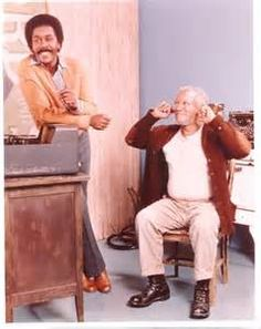 Redd Foxx and Demond Wilson Redd Foxx, Sanford And Son, The Good Son, Dynamic Duos, Classic Comedies, Scene Photo, My People, Entertainment