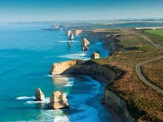The visually stunning formation of The Twelve Apostels; a must see attraction as…