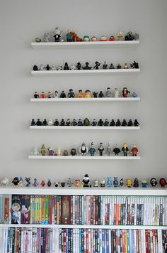need shelves like these for lego mini figs and go-gos.