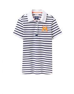 Joules U Philippa Slim Fit Polo Shirt in Fluoro Orange - Anna Davies
